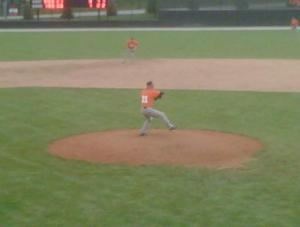 On the hill for Indiana Tech in a fall intrasquad at Warrior Field in 2012
